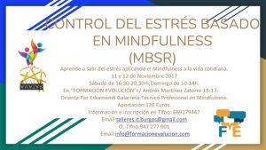 control del estres,mindfulnes definitivo